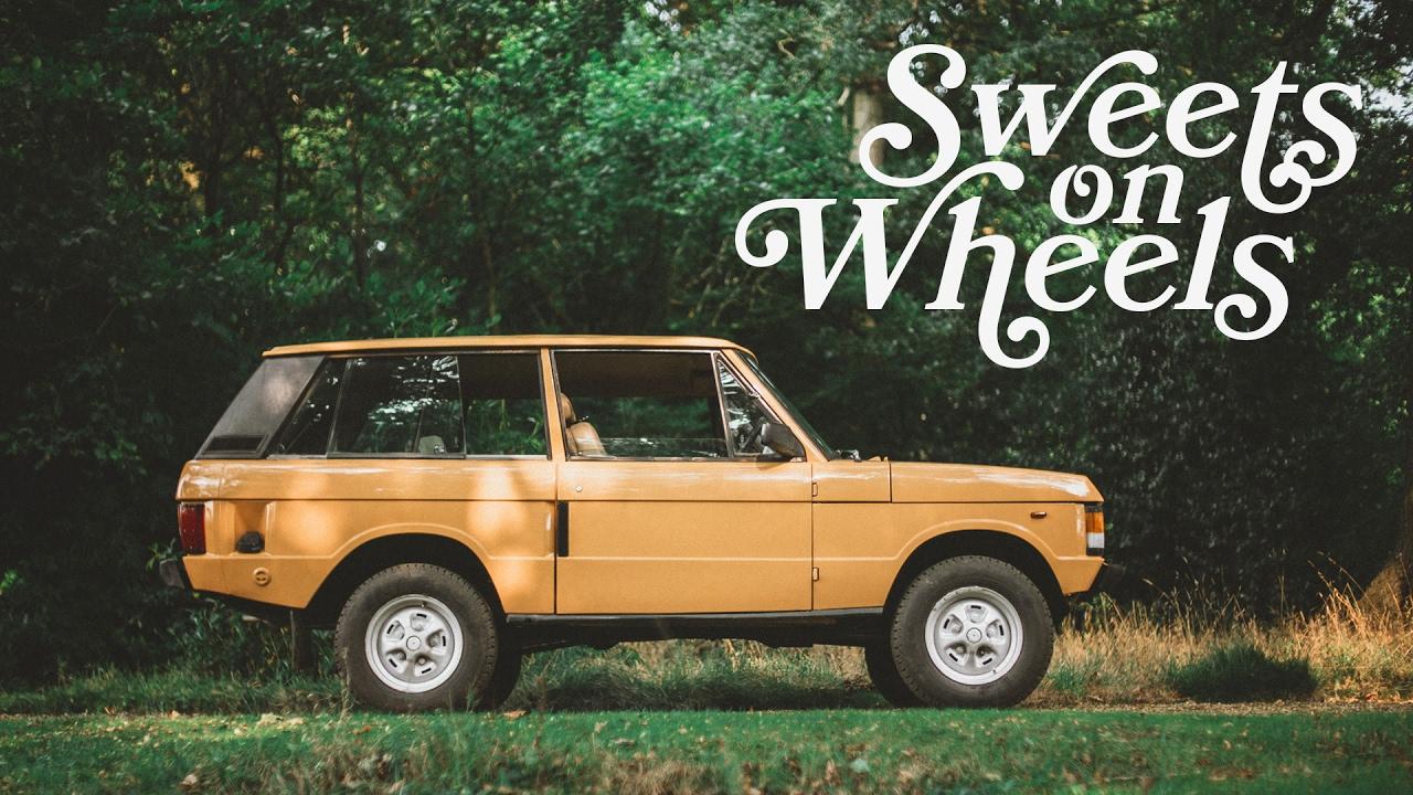 1981 Two Door Range Rover Sweets On Wheels Youtube