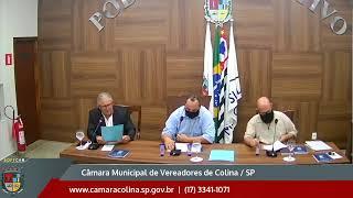 Câmara Municipal de Colina - 2ª Sessão Extraordinária 12/01/2021
