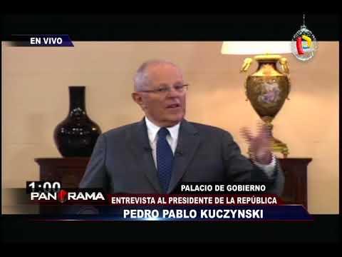 El Presidente Kuczynski responde a panel de periodistas en Palacio de Gobierno (3/3)