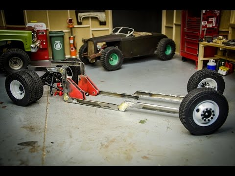 RC Rat Rod Build, U0027Ole #2, Part 2, Chassis Fabrication