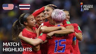 Download USA v Thailand - FIFA Women's World Cup France 2019™ Mp3 and Videos