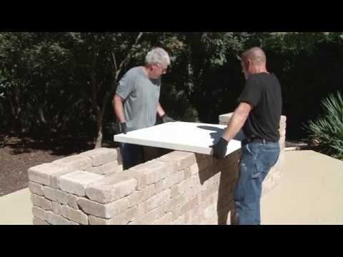 How To Build A Concrete Countertop For Your Outdoor Kitchen Youtube