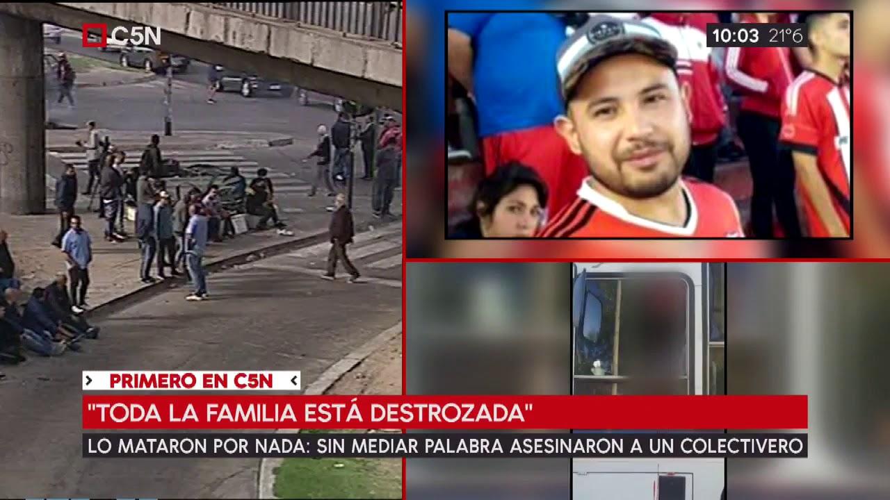 Primero En Cn Habla La Tia Del Colectivero Asesinado En Virrey Del Pino