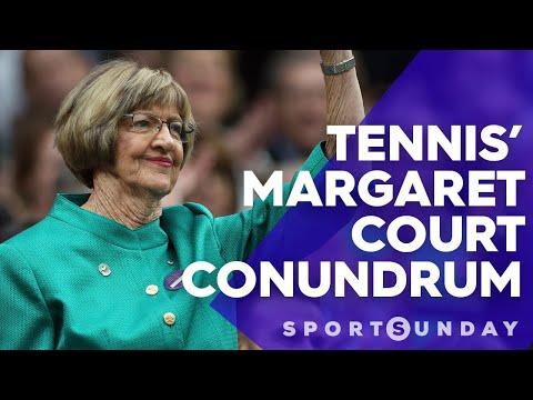 Tennis' Margaret Court problem   Sports Sunday