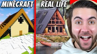 I Gave 100 Players One Chunk To Build Their Real Life House! (Minecraft)