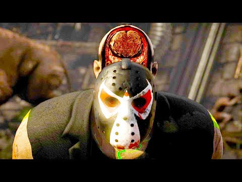 Mortal Kombat XL - All Fatalities & X-Rays on Bane Jason Costume Mod 4K Ultra HD Gameplay Mods