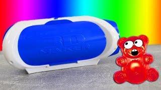 Lucky Bär bekommt ein 3D Maker geschenkt