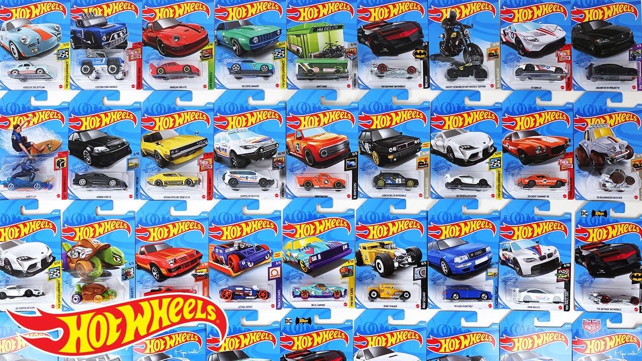 ホットウィール コレクション 2021 J Mix ポルシェ スカイライン スープラ ランチャ シビック シボレー アウディ BMW RX-7 バットモービル トレジャーハント
