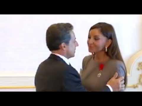 Mehriban Əliyevanın  французский  öpüşü
