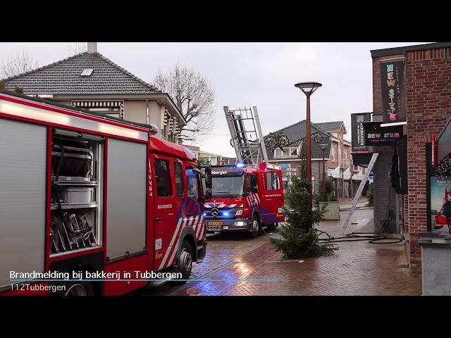 Brandmelding bij bakkerij in Tubbergen