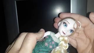 Unboxing:Disney Frozen Fever Elsa,Hasbro