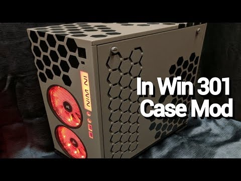 Modding The InWin 301 PC Case