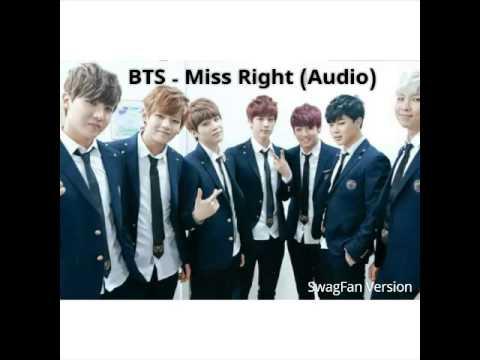 BTS - Miss Right (Audio)