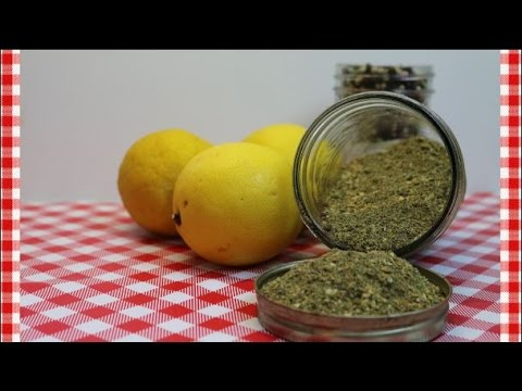 Salt Free Lemon Pepper & Herb Seasoning ~Salt Free Seasoning Recipe ~ Noreen's Kitchen