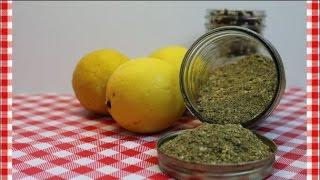 Salt Free Lemon Pepper & Herb Seasoning ~Salt Free Seasoning Recipe ~ Noreen's Kitchen