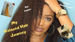 My Relaxed Hair Journey | Updated with Photos!