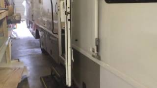 Mobile medical clinic van Rv with 1 exam room