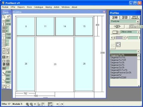 Door Design Software windowsoftwarecouk window design software home free online window door Ccg Profiles Software For Windows And Doors Design And Drawing Constructions Part 3
