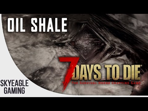 7 Days To Die | How To: Find Oil Shale + Craft Into Gas Cans For Minibikes [Guide] - PS4/Xbox One
