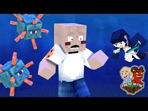 THIS WAS A STUPID IDEA !! - Minecraft Friend Or Foe #18