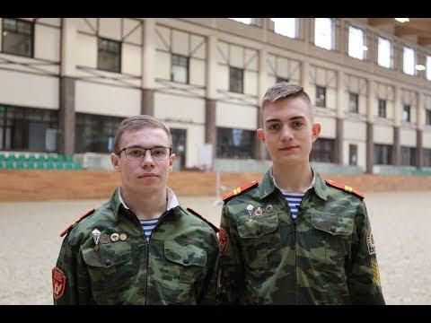Кадеты Максим Терентьев и Юрий Стратонов: первое интервью после приезда в MAXIMA PARK