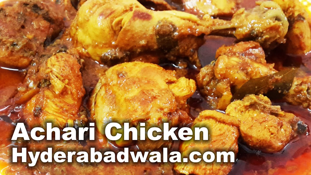 how to prepare chicken pickle in home