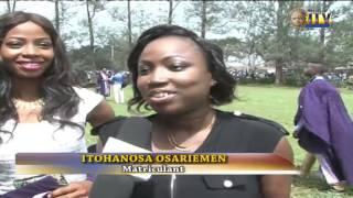 university of benin holds 2014 2015 matriculation ceremony