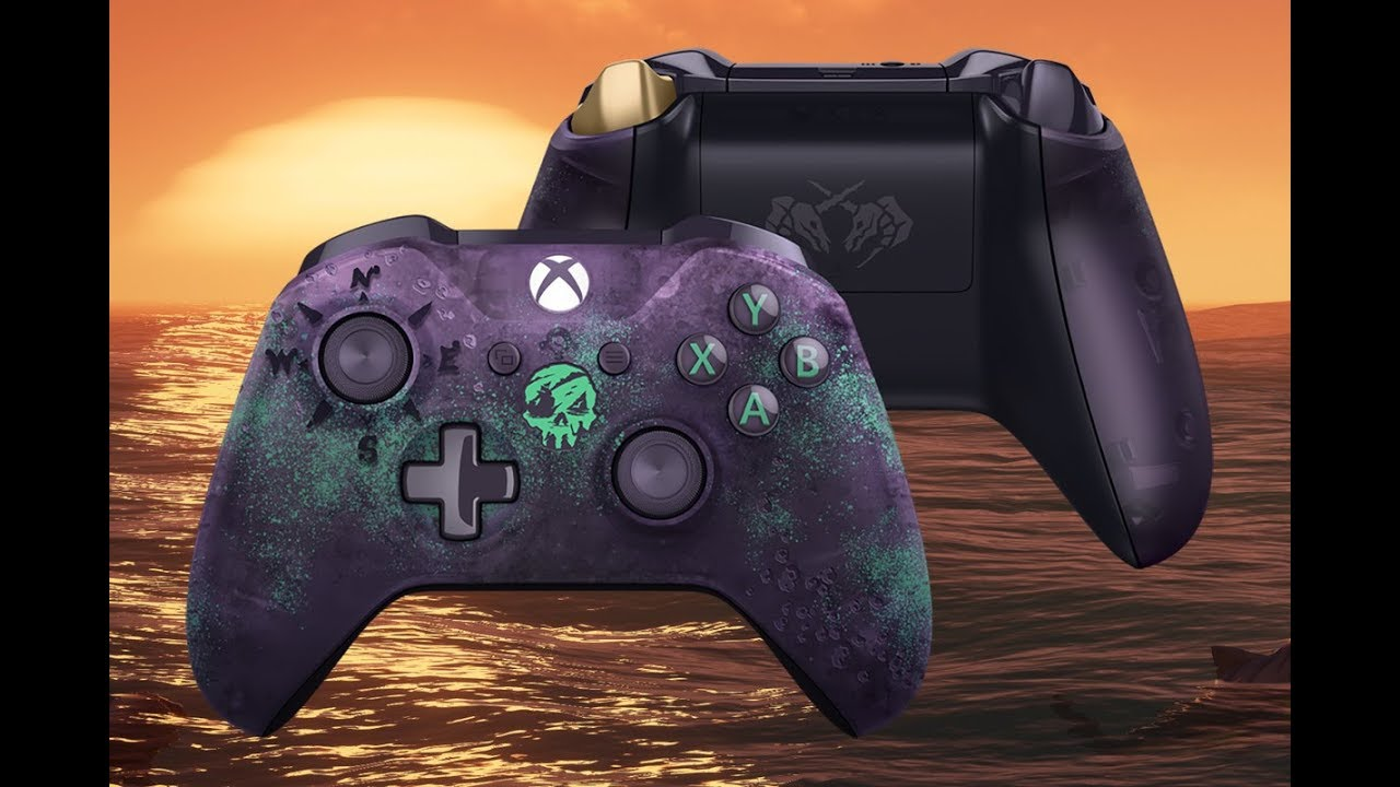 Sea of Thieves Limited Edition Controller Unboxing