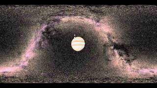 Galilean moon orbits from Callisto into Jupiter