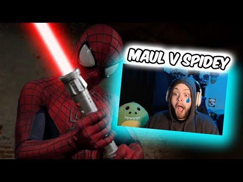 I CRIED | Darth Maul Vs Spider-Man [Bat In The Sun] (REACTION!!!)