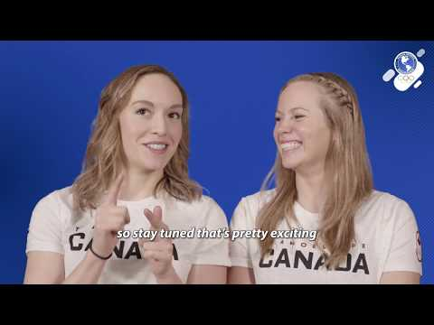 Road to Tokyo 2020: Artistic Swimmers Jacqueline Simoneau & Claudia Holzner