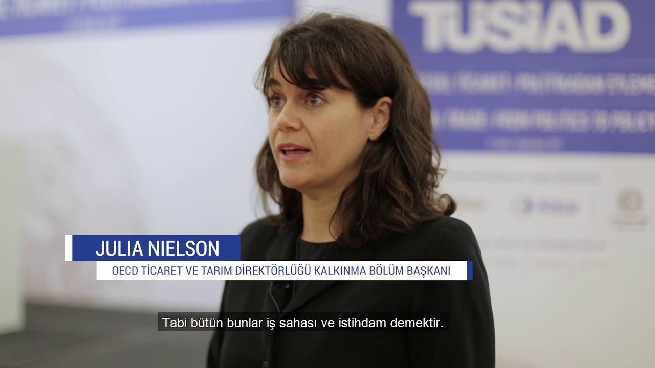 TÜSİAD Küresel Ticaret Konferansı-OECD Tic. & Tarım Direktörlüğü Kalkınma Böl. Başkanı Julia Nielson
