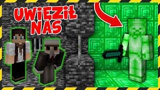 Minecraft FERAJNA: ZIELONY STEVE UWIĘZIŁ NAS W BUNKRZE!