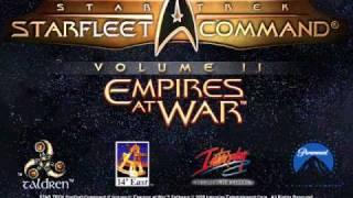 Star Trek: Starfleet Command II - Menu Screen