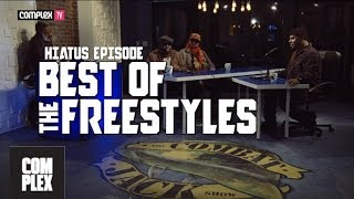 Best of The Freestyles | The Combat Jack Show (Talib Kweli, Action Bronson, Black Thought...)