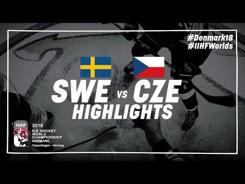 Game Highlights: Sweden vs Czech Republic May 6 2018 | #IIHFWorlds 2018