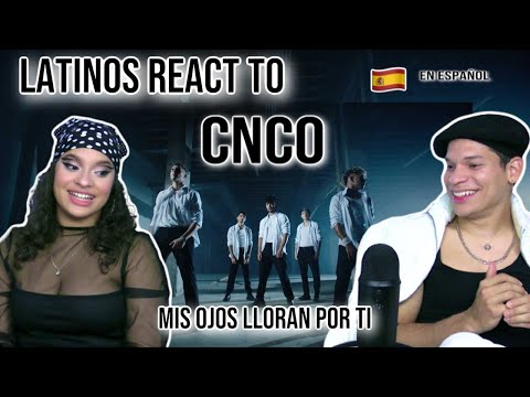 Latinos react to CNCO – Mis Ojos Lloran Por Ti (Official Video) For the first time SPANISH REACTION