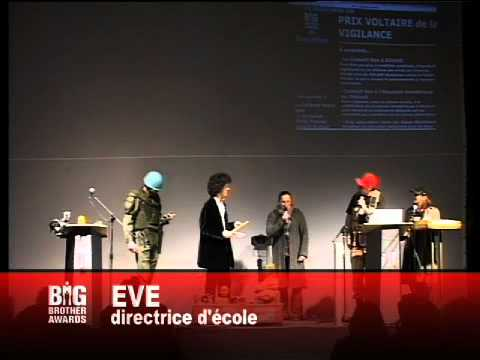 9. Prix Orwell Voltaire / Big Brother Awards 2009