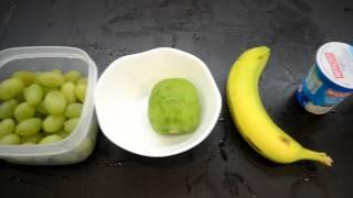 Step 1 Of Making Yogurt Fruit Salad