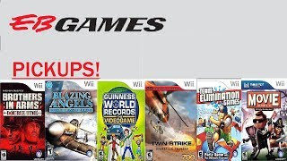Eb Games Pickups!  Brothers in Arms Double time and other Wii Games