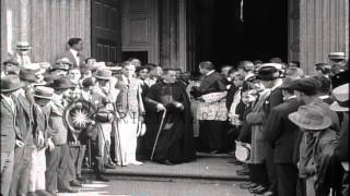 Emperor Karl I of Austria and Empress Zita in exile in Madeira Island, Portugal. ...HD Stock Footage