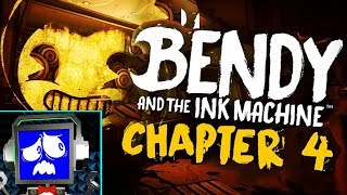 BENDY and THE INK MACHINE Chapter 4 [FACECAM!]