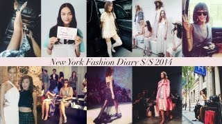 New York Fashion Week Diary S/S 14 Thumbnail