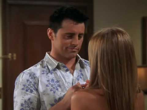 Friends Joey And Rachel Kiss Youtube