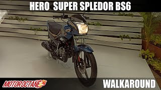 Hero Super Splendor 125 BS6 - TEASED NOT LAUNCHED | Hindi | MotorOctane