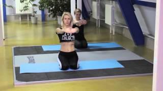 упражнения для верхней части спины