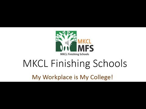 MKCL MFS : WORK Based Degree Program | Testimonial from our existing students