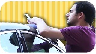 Fırat'tan Melih'e Araba Kazası Şakası