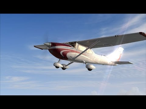 TheChasMan CESSNA 182 FLIGHT CONTROLS------Come Chat :)