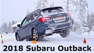 2018 Subaru Outback, first drive